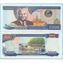 Лаос 2000 кип 2003 год.