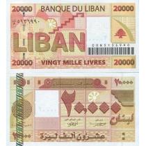 Ливан 20000 ливров 2004 г.