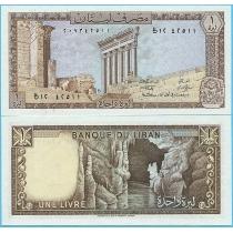 Ливан 1 ливр 1980 год.