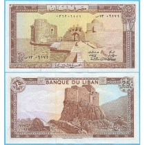 Ливан 25 ливров 1983 год.