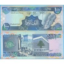 Ливан 1000 ливров 1988 год