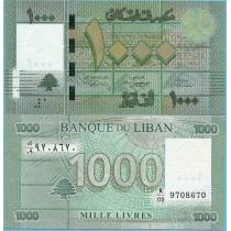 Ливан 1000 ливров 2012 г.
