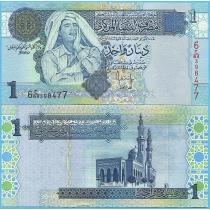 Ливия 1 динар 2004 год.