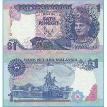 Малайзия 1 ринггит 1989 год.