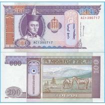 Монголия 100 тугриков 1994 год.