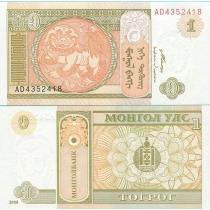 Монголия 1 тугрик 2008 г.