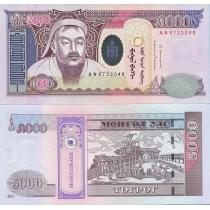 Монголия 5000 тугриков 2013 год.