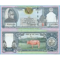 Непал 250 рупий 1997 год. Юбилейная банкнота в буклете.