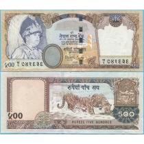 Непал 500 рупий 2002 год.