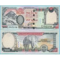 Непал 1000 рупий 2013 год.