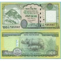 Непал 100 рупий 2015 год.