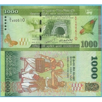 Шри-Ланка 1000 рупий 2010 год.