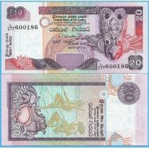 Шри-Ланка 20 рупий 2004 год.
