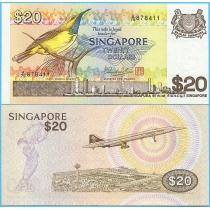 Сингапур 20 долларов 1979 год.