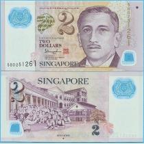 Сингапур 2 доллара 2013 год.