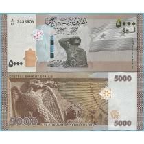 Сирия 5000 фунтов 2019 год.