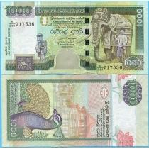 Шри-Ланка 1000 рупий 2006 год.