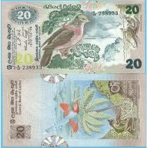 Шри-Ланка 20 рупий 1979 год.