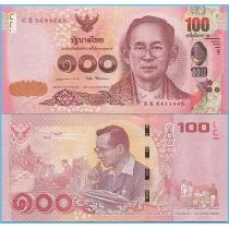Таиланд 100 бат 2017 год.