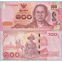 Таиланд 100 бат 2015 год.