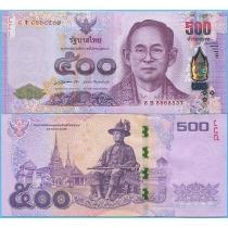 Таиланд 500 бат 2014 год.