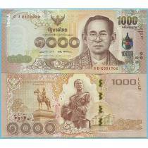 Таиланд 1000 бат 2015 год.