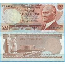 Турция 20 лир 1979-1987 год.