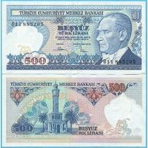 Турция 500 лир 1983 год.