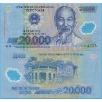 Вьетнам 20000 донгов 2006 год.