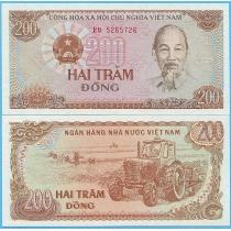 Вьетнам 200 донгов 1987 год.
