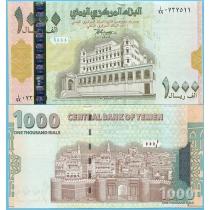 Йемен 1000 риал 1998 год.