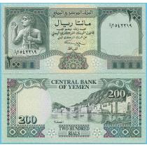 Йемен 200 риал 1996 год.