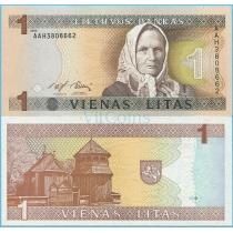 Литва 1 лит 1994 г.