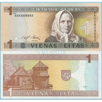 Литва 1 лит 1994 год.