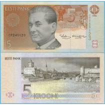 Эстония 5 крон 1994 год.