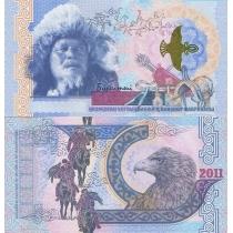 Казахстан тестовая банкнота 2011 г. Беркутчи