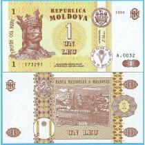 Молдова 1 лей 1994 год.