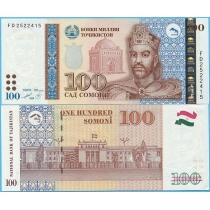 Таджикистан 100 сомони 1999 (2013) год.