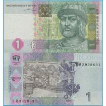 Украина 1 гривна 2004 г.