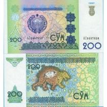 Узбекистан 200 сум 1997 год.