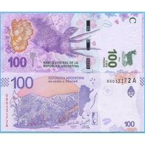 Аргентина 100 песо 2018 год.