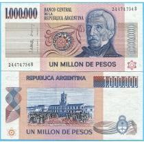 Аргентина 1000000 песо 1983 год.