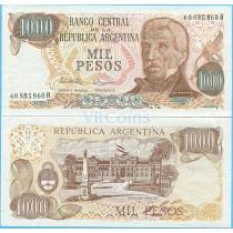Аргентина 1000 песо 1976-83 г.