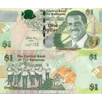 Багамские острова 1 доллар 2008 год.