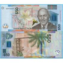 Багамские острова 50 долларов 2019 год.