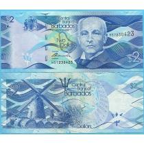 Барбадос 2 доллара 2013 год.