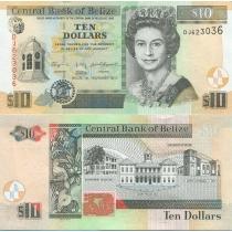 Белиз 10 долларов 2011 год.