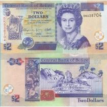 Белиз 2 доллара 2011 г.