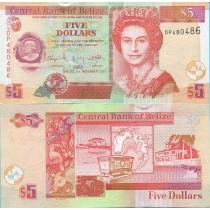 Белиз 5 долларов 2011 год.