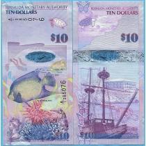 Бермудские острова 10 долларов 2009 год.